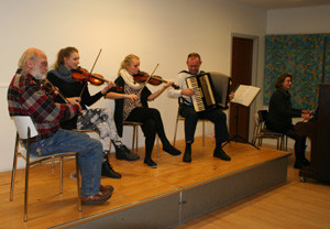 Fra venstre: Bente, Gunnar, Peter og H.P.
